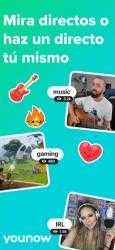 Captura de Pantalla 1 de YouNow: Videochat y livestream para iphone