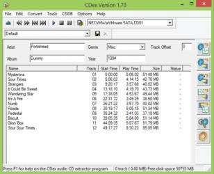 Captura de Pantalla 1 de Cdex para windows