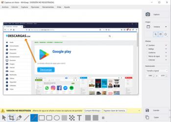 Captura de Pantalla 4 de WinSnap para windows