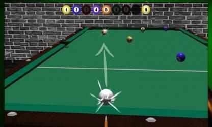 Captura de Pantalla 5 de Real Pool Billiard Snooker 3D para windows