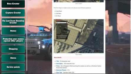 Screenshot 2 de Guide For GTA V Online para windows