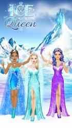 Captura de Pantalla 7 de Ice Queen - Dress Up & Makeup para android