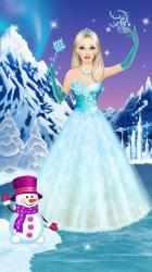 Captura de Pantalla 11 de Ice Queen - Dress Up & Makeup para android