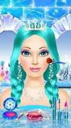 Captura de Pantalla 4 de Ice Queen - Dress Up & Makeup para android