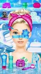 Captura de Pantalla 3 de Ice Queen - Dress Up & Makeup para android