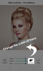 Captura de Pantalla 4 de Makeup 365 - Beauty Makeup Editor-MakeupPerfect para android