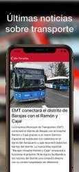 Captura de Pantalla 7 de Transporte Madrid y TTP para iphone
