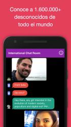 Captura de Pantalla 3 de Chat anónimo en español - AntiLand para android