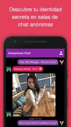Captura de Pantalla 2 de Chat anónimo en español - AntiLand para android