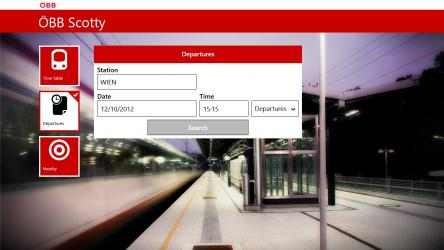 Captura de Pantalla 3 de ÖBB Scotty para windows