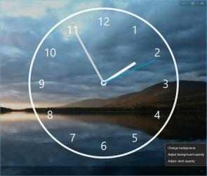Captura de Pantalla 7 de Nightstand Analog Clock para windows