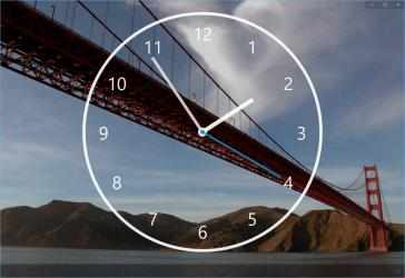 Screenshot 5 de Nightstand Analog Clock para windows