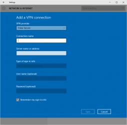 Screenshot 3 de Pulse Secure para windows
