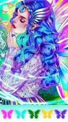 Captura 11 de Fairytale coloring book-Free paint by number para android
