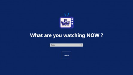 Captura 1 de TVMovieNow para windows