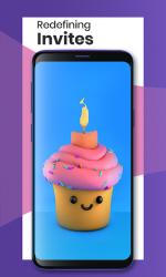 Captura 2 de Invitations Card Maker & Videos - Bulaava para android