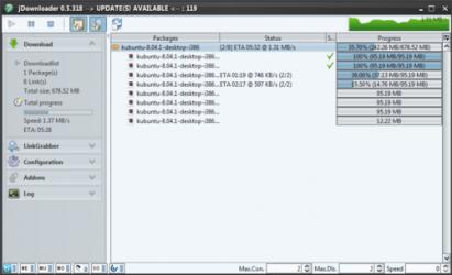 Screenshot 2 de JDownloader para windows