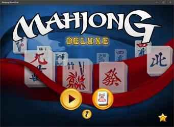 Screenshot 1 de Mahjong Deluxe Free para windows