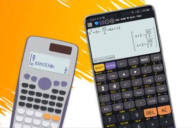 Imágen 2 de Calculadora científica 82 es plus advanced 991 ex para android