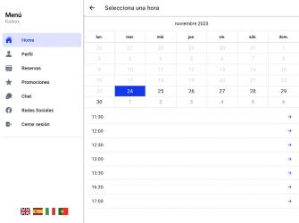 Screenshot 6 de La Barbería de Alcalá para android