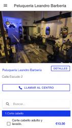 Captura de Pantalla 2 de La Barbería de Alcalá para android