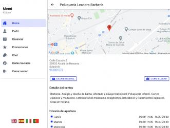 Captura de Pantalla 7 de La Barbería de Alcalá para android