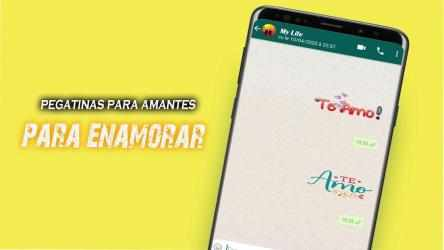 Captura 3 de Stickers De Amor Y Piropos Para WhatsApp 2021 para android