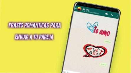 Imágen 9 de Stickers De Amor Y Piropos Para WhatsApp 2021 para android
