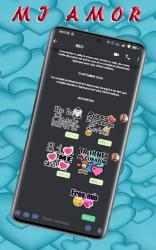 Screenshot 11 de Stickers De Amor Y Piropos Para WhatsApp 2021 para android