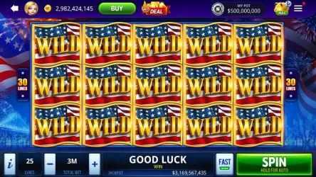 Captura de Pantalla 1 de DoubleU Casino - Vegas Style Free Slots para windows