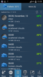 Screenshot 6 de Weather ACE Tiempo para android