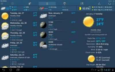 Screenshot 11 de Weather ACE Tiempo para android