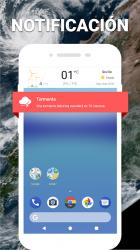 Imágen 6 de Widget de súper clima - Pronóstico del tiempo Pro para android
