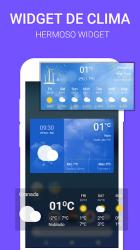 Screenshot 5 de Widget de súper clima - Pronóstico del tiempo Pro para android
