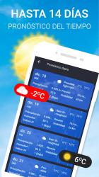 Screenshot 3 de Widget de súper clima - Pronóstico del tiempo Pro para android