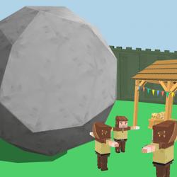 Captura de Pantalla 1 de Rock of Destruction! para android