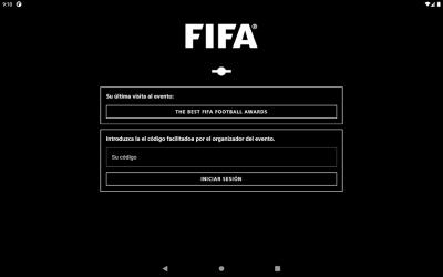Screenshot 7 de FIFA Events Official App para android