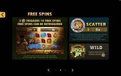 Screenshot 5 de Jungle Jim El Dorado Free Casino Slot Machine para windows