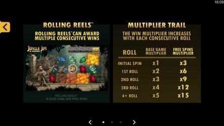 Captura 7 de Jungle Jim El Dorado Free Casino Slot Machine para windows