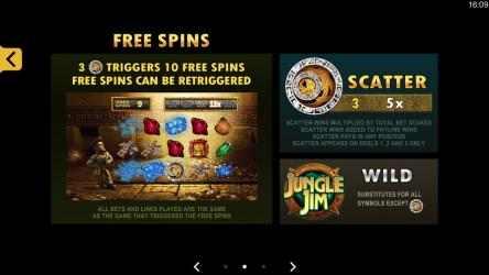 Screenshot 8 de Jungle Jim El Dorado Free Casino Slot Machine para windows