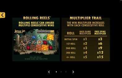 Screenshot 4 de Jungle Jim El Dorado Free Casino Slot Machine para windows