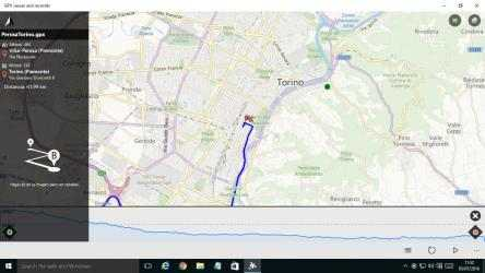 Captura 1 de GPX viewer and recorder para windows
