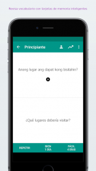 Screenshot 5 de Apprendre le tagalog facile para android