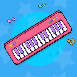 Captura de Pantalla 1 de Bebi piano, drums, xylophone.. para android