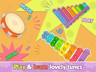 Screenshot 13 de Bebi piano, drums, xylophone.. para android