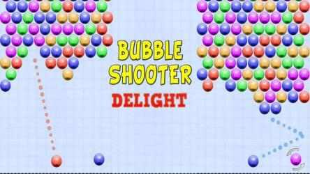 Screenshot 1 de Bubble Shooter Delight para windows