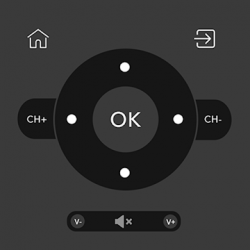 Captura de Pantalla 1 de Télécommande Android TV / appareils: CodeMatics para android