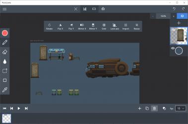Captura 3 de Pixel Art Studio Free para windows