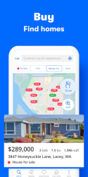Screenshot 2 de Zillow: Find Houses for Sale & Apartments for Rent para android