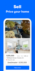 Screenshot 4 de Zillow: Find Houses for Sale & Apartments for Rent para android